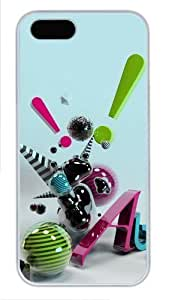 3D abstract art Case For Iphone 4/4S Cover case PC White Case For Iphone 4/4S Cover