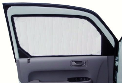 SIDE WINDOW Front Seat set/2 Sunshades for Hyundai Santa Fe Sport & Limited 2013 2014 2015 2016 2017 2018 Custom-fit Sunshade #1399S-A
