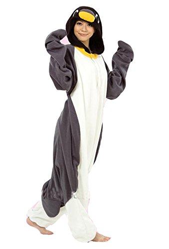 Vu Roul adulto Kigurumi Cosplay Animal disfraz pingüino pijama gris: Amazon.es: Ropa y accesorios