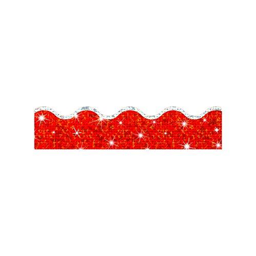 Trend Enterprises Super Sparkle Red Terrific Trimmer (T-92502) - Trimmer Red Sparkle