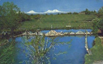 Redmond, Oregon Postcard - Redmond Town
