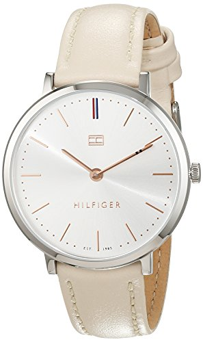 Tommy Hilfiger Women's 'Sophisticated Sport' Quartz Stainless Steel and Leather Casual Watch, (Model: 1781691)