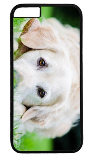 Cut Dog Pet Case for iPhone 6 PC Black by Cases & Mousepads