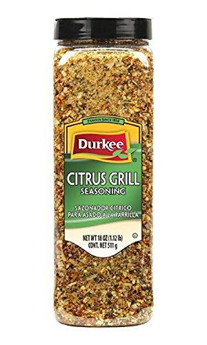 Durkee Citrus Grill Seasoning, - Grill Lemon Seasoning Pepper