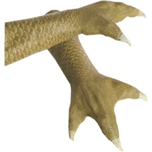 Star Wars Bossk Hands Latex Glove, Green, One Size - Bossk Costumes