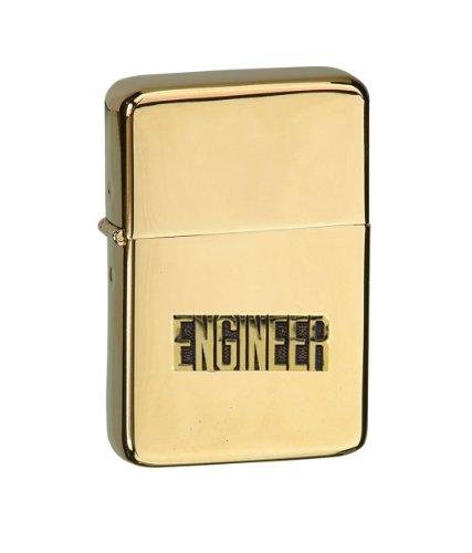 Vector KGM Thunderbird Emblem Hi Polish Brass Lighter - V...