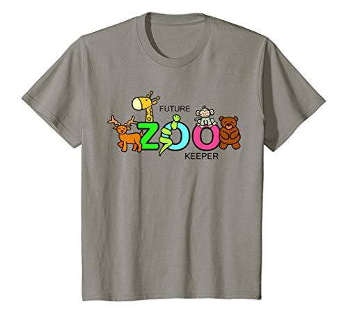 Kids FUTURE ZOO KEEPER Costume African Halloween Shirt Gift
