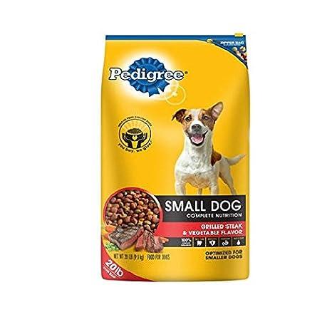 Amazoncom Pedigree Small Dog Targeted Nutrition Dog Food Steak