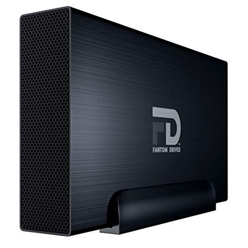 Fantom Drives 3TB External Hard Drive - 7200RPM USB 3.0/3.1 Gen 1 Aluminum Case - Mac, Windows, PS4, and Xbox (GF3B3000UP)