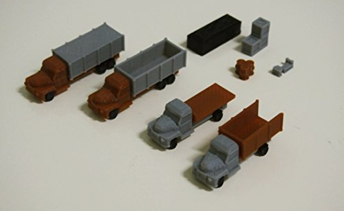 Outland Models Railway Autos Miniature 4 Dump Trucks for sale  Delivered anywhere in USA