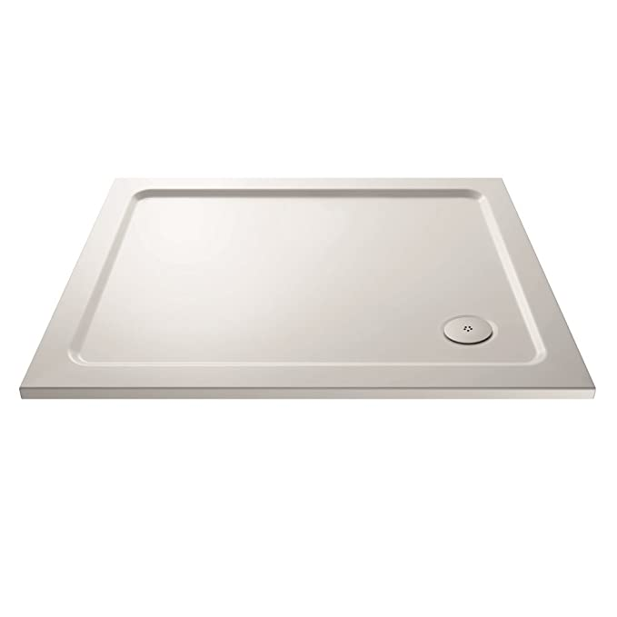700 x 700 mm baño cuadrado ligero ducha bandeja bajo perfil ...