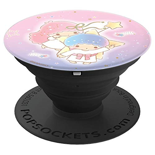 Little Twin Stars Sweet Galaxy Sparkle Space - PopSockets Grip and Stand for Phones and Tablets -