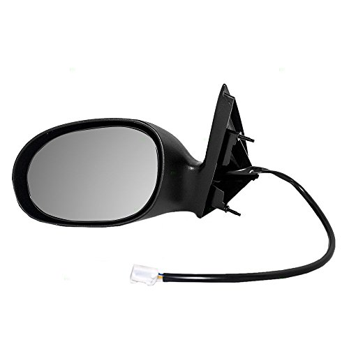 Drivers Power Side View Mirror Textured Replacement for Chrysler Dodge 4574607AE AutoAndArt