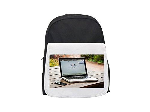Mac, Freelancer, Macintosh, Macbook printed kid's backpack,
