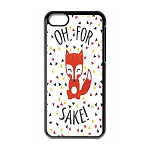 Characteristic Funny Phone Case Oh For Fox Sake For iPhone 5, 5S NP4K03183