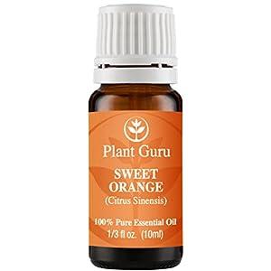 Sweet Orange Essential Oil. 10 ml. 100% Pure, Undiluted, Therapeutic Grade.