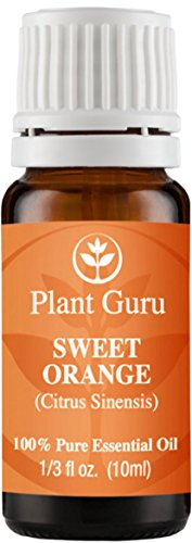 Sweet Orange Essential Oil. 10 ml. 100% Pure, Undiluted, Therapeutic Grade.
