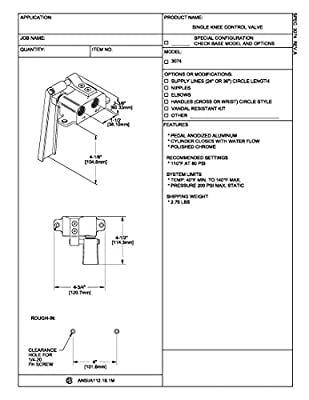 Fisher 3074 Single Knee Control Valve by Fisher Manufacturing