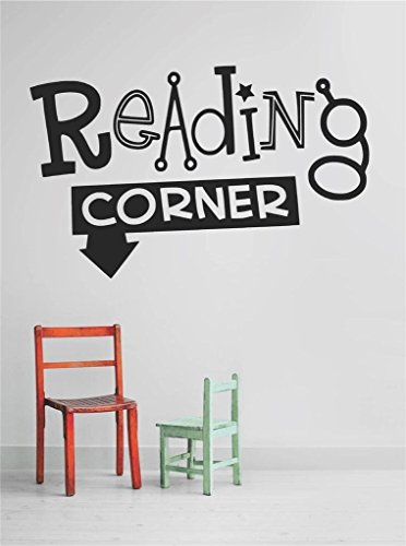 Design with Vinyl OMG A 431-231 Decor Item Decal Vinyl Wall Sticker Reading Corner Quote Home Living Room Bedroom Decor Item, 10-Inch x 20-Inch, Black