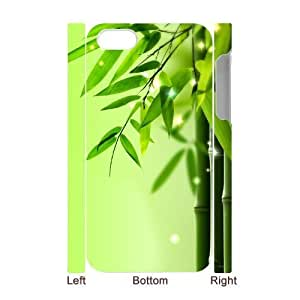 Bamboo Unique Design 3D Cover Case for Iphone 4,4S,custom cover case ygtg-335779