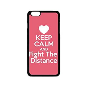 Red simple motto fashion cartoon Cell Phone Case for iPhone 6