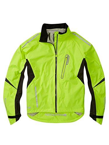 Madison Hi-Viz Yellow 2015 Stellar Cycling Waterproof Jacket (L, Yellow) ()