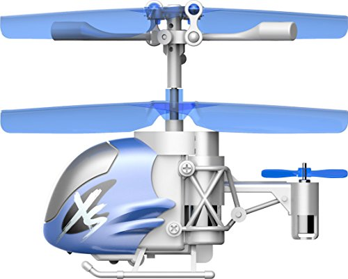 Silverlit Nano Falcon XS – Remote Control Helicopter, Blue