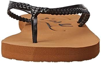 Roxy Women's Cabo Flip Flop, Blackbrown, 8 M Us 3