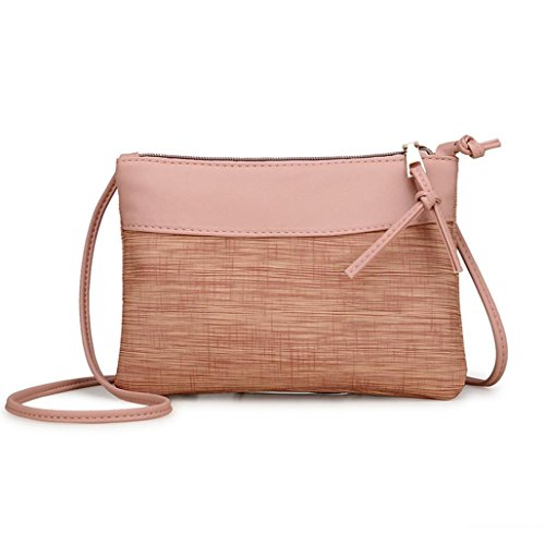Shoulder Design Stylish CieKen Crossbody Purses Bags Bag Pink Retro in for Women aBq7BIr