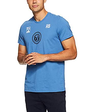 adidas Men's Marvel Team T-Shirt, Trace Royal(Blue), L(Large)