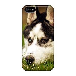 Iphone 5/5s YoZ6122ebWB Husky Dog Resting Cases Covers. Fits Iphone 5/5s