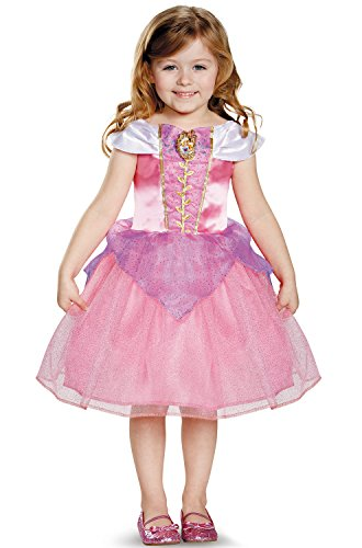 [Disguise 82908S Aurora Toddler Classic Costume, Small (2T)] (Toddler And Girls Aurora Princess Costumes)