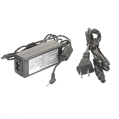AC Adapter Power Supply Charger for Asus Eee PC 1001PX-EU2X-BK 1001PX-MU27-BK 1001PXD-EU17-WT 1011CX 1015CX 1015CX-RTL304 1015PX X101-EU17-BK