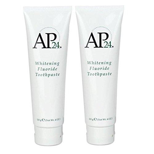 Nu Skin EDFHmz Ap 24 Whitening Fluoride Toothpaste, 4 oz, 2 Pack by NuSkin