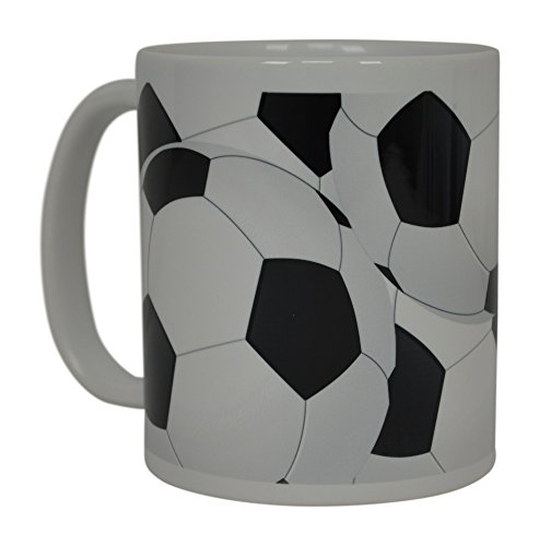 Soccer Ball Coffee Mug Novelty Cup Great Gift Idea For Men Women Soccer Players Lovers Fans