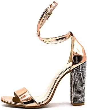 931d227ce94 Shopping Clear or Gold - Shoes - Women - Clothing, Shoes & Jewelry ...