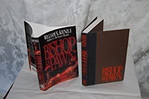 Hardcover BISHOP AS PAWN. [Mystery novel] Book