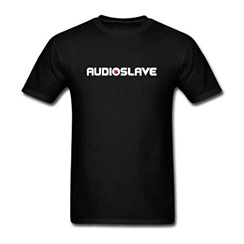 PLUSa Men's Audioslave DIY Cotton Short Sleeve T Shirt