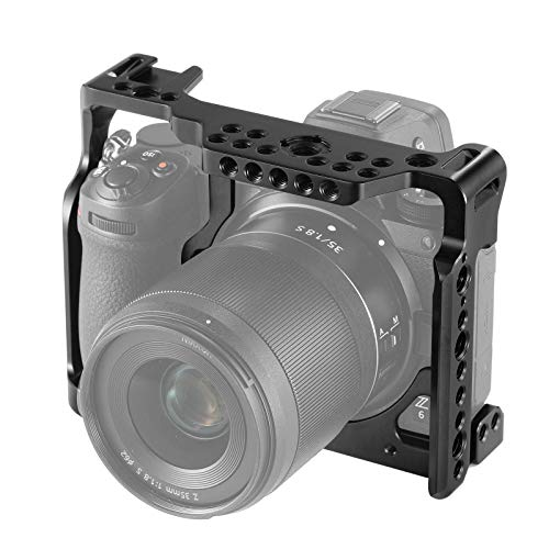 SMALLRIG Camera Cage for Nikon Z6/ Z7 Camera with Built-in NATO Rail and Cold Shoe 2243 by SMALLRIG (Image #4)