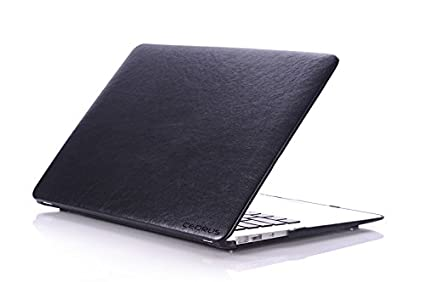 low cost 81454 43d91 Amazon.com: Personalized Macbook Leather Hardshell Case - Colour ...