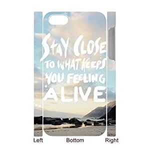 Customized Durable Case for Iphone 4,4S 3D, Stay Close Phone Case - HL-R682460