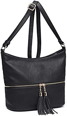 AOA Women/'s Purses and Handbag Lightweight Ladies Faux Leather Tote Bags Wallet