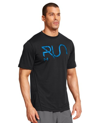 Under Armour Men's UA All Over Grid T-Shirt Extra Extra Large Black