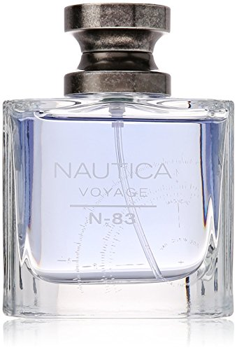 Nautica N-83 Voyage Eau de Toilette for Men, 1.7 oz., Nautica's Classic Men's Scent, Water & Sailing Inspired Fragrance, Great Gift