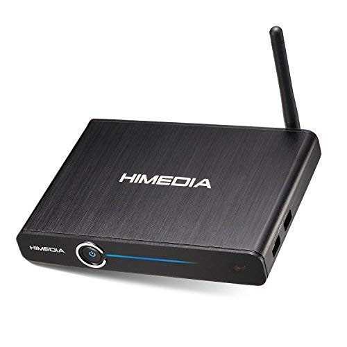 HIMEDIA™ Q30 4K (Ultra HD) HDR & 3D Android Mediaplayer/Mini PC inklusive Airmouse