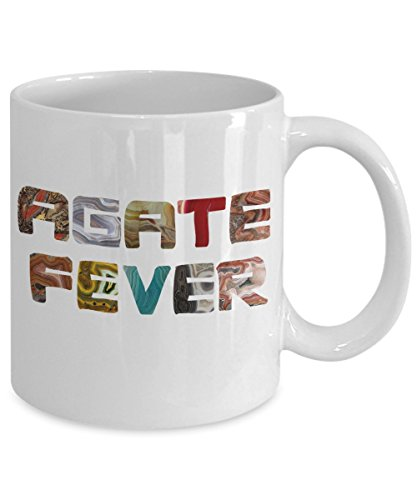 Burke & Bunny Agate Fever Mug - Great Gift for Rockhounds