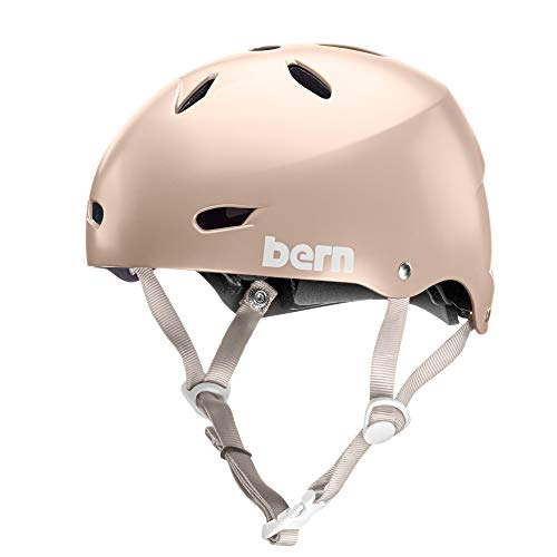 - BERN - Team Brighton EPS Helmet, Satin Rose Gold, Large