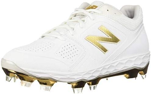 new balance baseball cleats gold