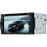 KKmoon 6.2 In-Dash, Double DIN, Bluetooth Enabled, DVD/MP3/CD AM/FM Receiver