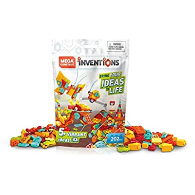 Mega Construx Inventions Bright Brick Building Set: Toys & Games